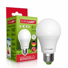 Светодиодная лампа EUROLAMP LED EKO A60 8W E27 4000K