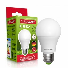 Светодиодная лампа EUROLAMP LED EKO A60 8W E27 3000K