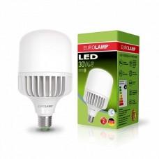 LED лампа EUROLAMP высокомощная 30W E27 6500K (LED-HP-30276)