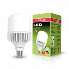 Светодиодная EUROELECTRIC LED Лампа высокомощная 40W E27 6500K