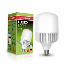 LED лампа EUROLAMP высокомощная 50W E40 6500K (LED-HP-50406)
