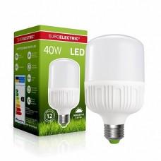 Светодиодная лампа EUROELECTRIC LED высокомощная 40W E27 6500K