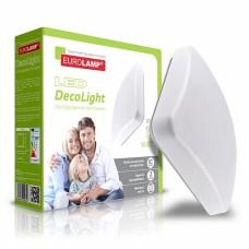 Светодиодный EUROLAMP LED светильник квадратный накладной Decolight 14W 4000K