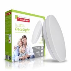 Светодиодный EUROLAMP LED Светильник круглый накладной Decolight 14W 4000K (LED-NLR-14/4(F)new)