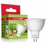 Светодиодная лампа Eurolamp 5W, 12V, MR16, 3000К