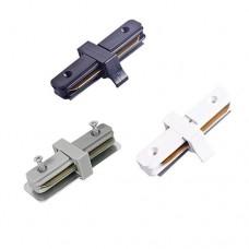 Коннектор прямой ECONOM (белый, черный, серебро)