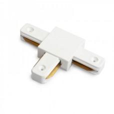Т-образный коннектор для шинопровода ECONOM (черный, белый, серебро)