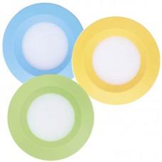 Светодиодный светильник Feron AL525 3W (голубой/зеленый/желтый)