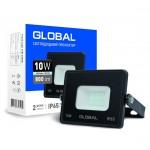 Прожектор светодиодный GLOBAL 10W холодный свет (1-GBL-02-LFL-1060)