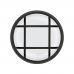 Антивандальный LED-светильник GLOBAL GBH 04 15W 5000K черный (круг)