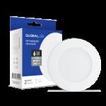 Светильник GLOBAL 6W 4100К (3шт. в уп)