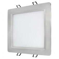 Светодиодный светильник OLIVIA 15W 3000K (серебристый/хром)