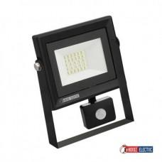 Прожектор светодиодный с датчиком PARS 20W 6400K