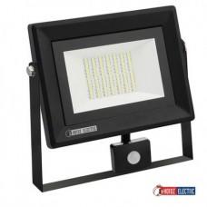 Прожектор светодиодный с датчиком PARS 50W 6400K