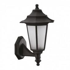 Уличный светильник на стену BEGONYA-2 черный (пластиковый), Е27