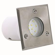 Тротуарный светильник INCI 1.2W (бел./син.)