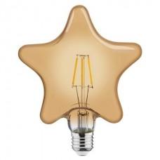 Лампа филаментная STAR 6W 2200K