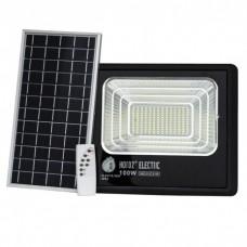 Прожектор на солнечных батареях TIGER 100W уличный с пультом