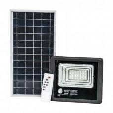 Прожектор на солнечных батареях 25W уличный с пультом