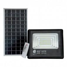 Прожектор на солнечных батареях 40W уличный с пультом