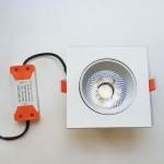 Врезной светильник 12W (белый)