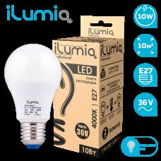 Светодиодная лампа Ilumia низковольтная 10Вт, 36В, Е27, 4000К