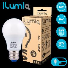 Светодиодная лампа Ilumia низковольтная 6Вт, 12В, Е27, 4000К