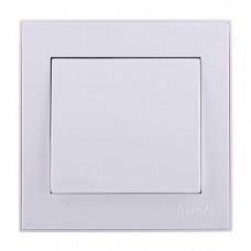 Выключатель Lezard Rain, белый (703-0228-100)