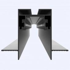 Магнитный шинопровод встраиваемый, 1м (высота 61мм)
