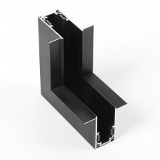 Угловой коннектор для накладного магнитного шинопровода 90º (вертикальный)