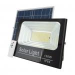 Прожектор на солнечной батарее Solar Light 150W с пультом