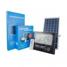 Прожектор на солнечных батареях Solar Light 60W уличный с пультом