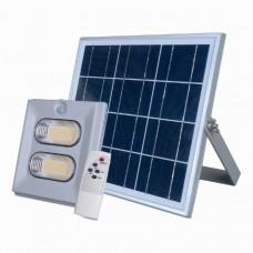 Прожектор светодиодный на солнечной батарее 100W с пультом