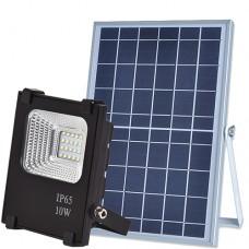 Прожектор светодиодный на солнечной батарее VARGO 10W с пультом (VS-319)