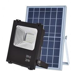 Прожектор светодиодный на солнечной батарее VARGO 20W с пультом (VS-320)