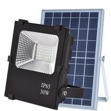 Прожектор светодиодный на солнечной батарее VARGO 40W с пультом