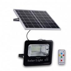 Прожектор на солнечных батареях Solar Light 10W уличный с пультом