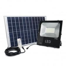 Прожектор гибридный 100W уличный (с пультом)