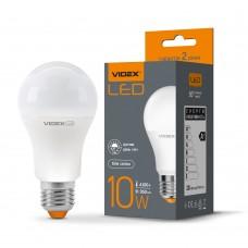 LED лампа VIDEX A60e 10W E27 4100K с сенсором освещения