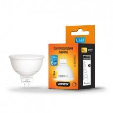 LED лампа VIDEX MR16еD 6W GU5.3 4100K 220V диммерная