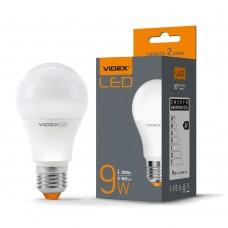 LED лампа VIDEX A60e 9W E27 3000K
