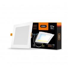 Светильник с регулировкой цветности, встраиваемый VIDEX 12W 3000-6200K