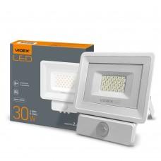 LED прожектор VIDEX 30W 5000K (сенсорный)