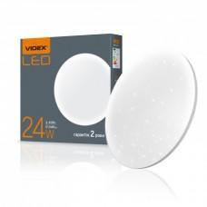 LED светильник VIDEX 24W 4100K (акриловый, круг)