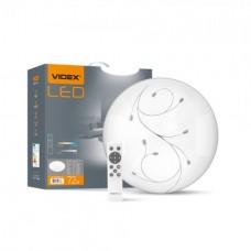 Светильник круглый VIDEX GLANZ 72W 2800-6200K