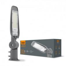 LED фонарь уличный VIDEX (поворотный) 30W 5000K 220V Серый