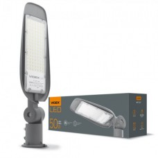 LED фонарь уличный VIDEX (поворотный) 50W 5000K