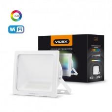 Смарт прожектор VIDEX 10W RGB Wi-fi 3000-6500