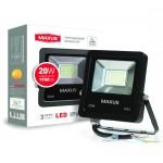 Светодиодный прожектор MAXUS 20W 5000K