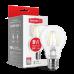 LED лампа MAXUS (филамент), А60, 8W, мягкий свет,E27 (1-LED-565) (NEW)